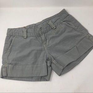 True religion gray  cotton shorts